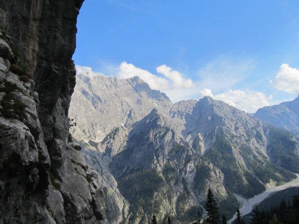 Ein Paradies für Bergsteiger und Kletterer.
