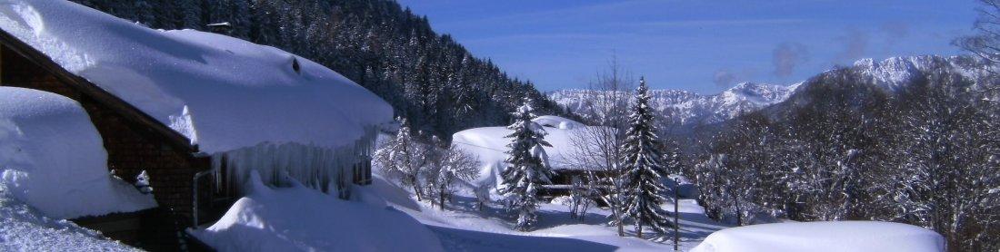 Paradies in den Bergen - Thannlehen im Berchtesgadener Land - Natur pur