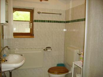 Ferienwohnung - Bad mit Dusche und WC