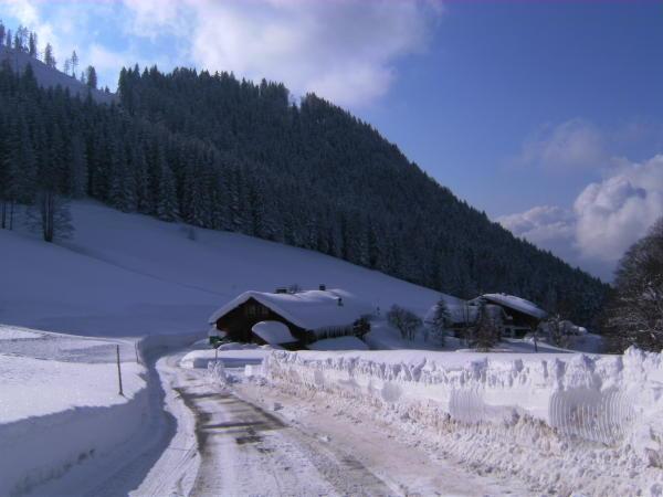 Winterurlaub in Berchtesgaden Oberau - Schifahren bis vor die Haustür möglich!